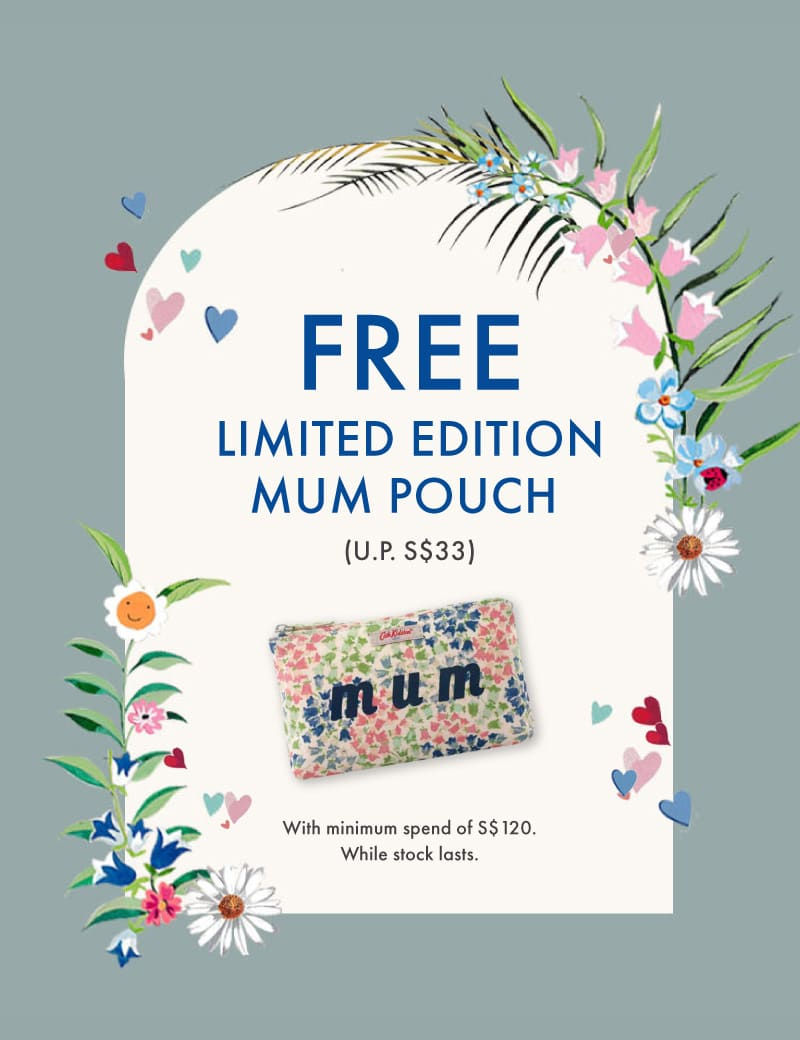 Free Limited Edition Mum Pouch