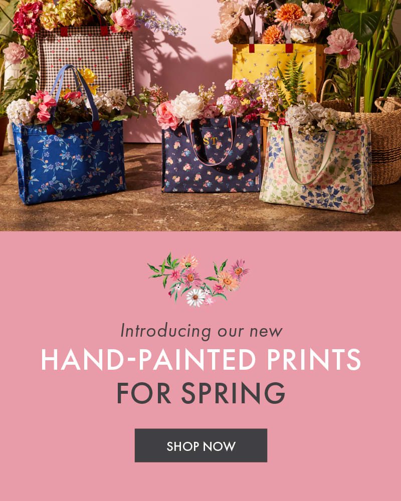 HAND-PAINTED PRINTS FOR SPRING