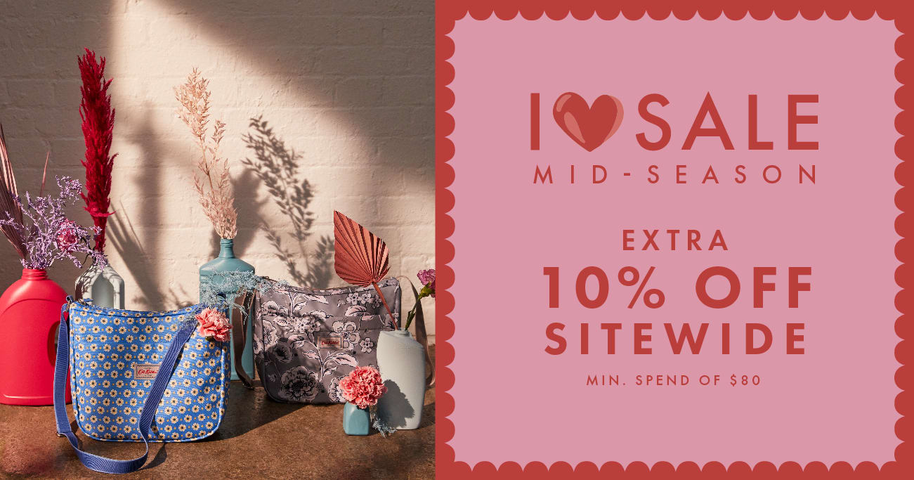 EXTRA 10% OFF SITEWIDE