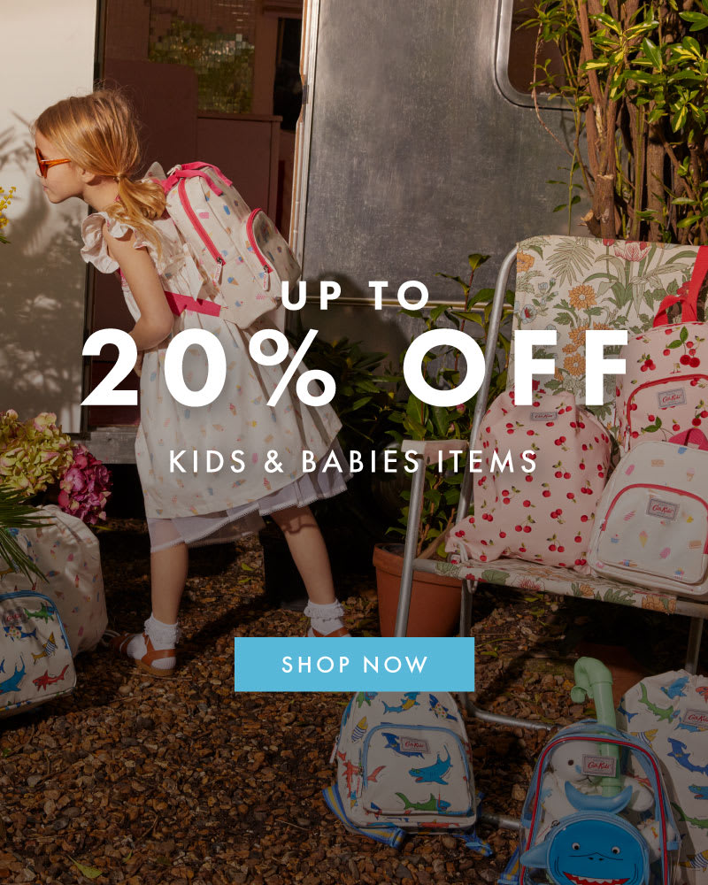 UP TO 20% OFF KIDS & BABIES ITEMS