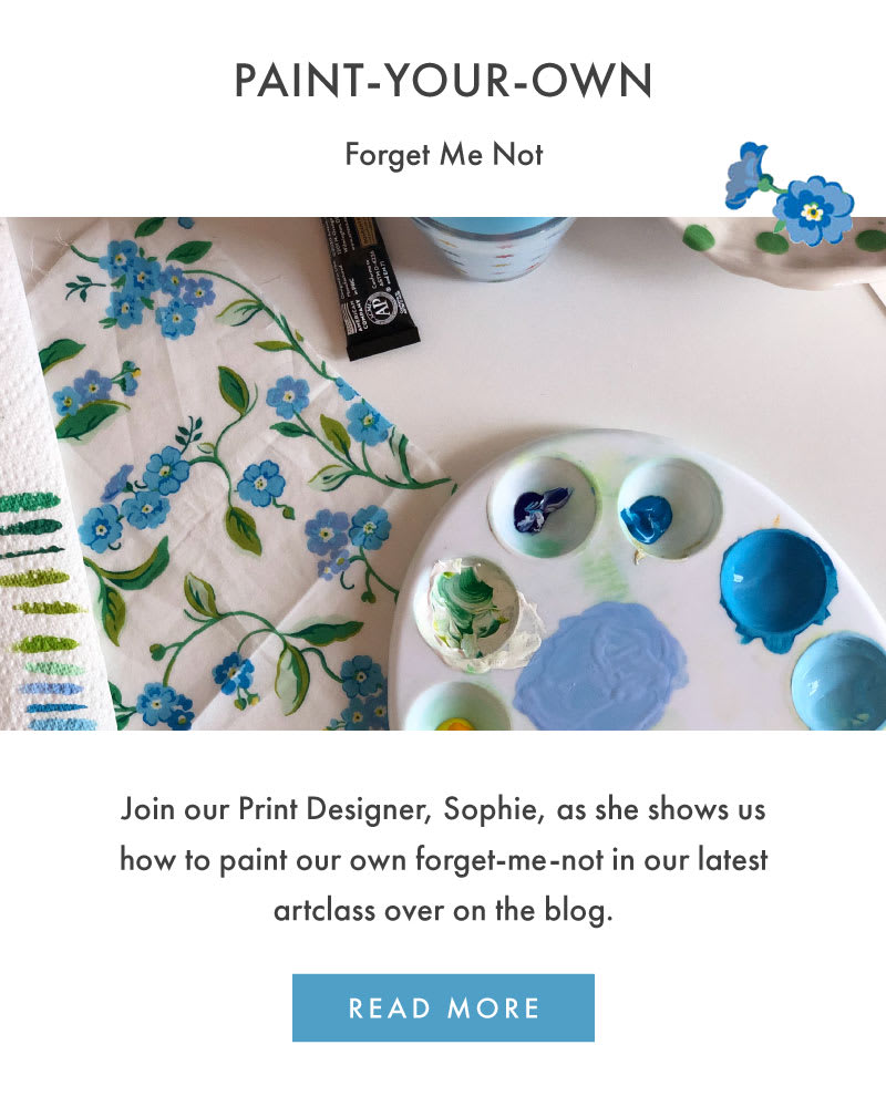 Paint your own Forget-Me-Not
